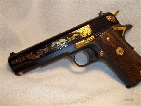 Handmade Pistols - colt 1911 us air custom 45acp pistol for sale