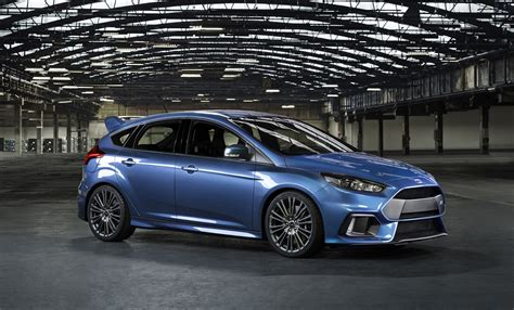 All New Ford Focus RS; High Performance Hatch with