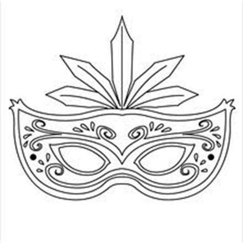 masquerade mask coloring pages hellokids.com
