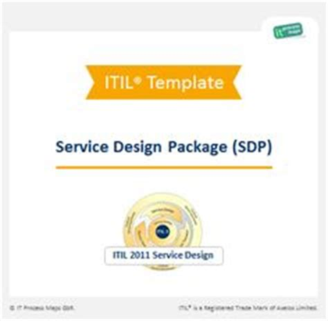 Service Design Package Vorlage Itil Service Portfolio Template The Service Portfolio Represents A Complete List Of The