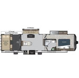 raptor hauler floor plans 2015 raptor 310ts floor plan hauler keystone rv