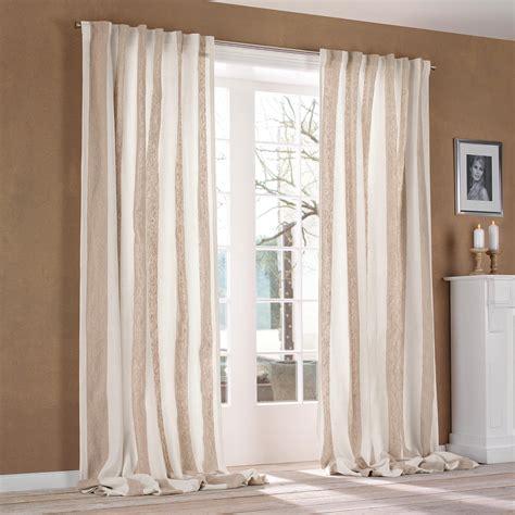 vorhang creme vorhang brera largo 1 vorhang mit 3 jahren garantie