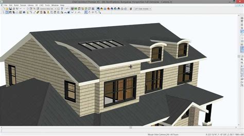 home design software roof chief architect roof design tips youtube
