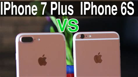 iphone 7 plus vs iphone 6s plus comparison