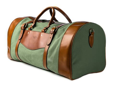 Safari Bags by Free Initialing On Westley Richards Leather Gun Slips And