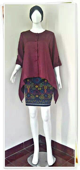 Mutia Tunic cool pattern skirt batik inspiration