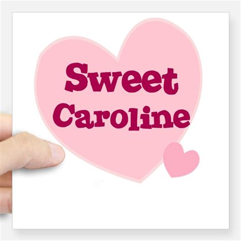 Personalized Name Wall Stickers sweet caroline stickers sweet caroline sticker designs