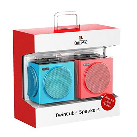 8bitdo cube stereo bluetooth speakers