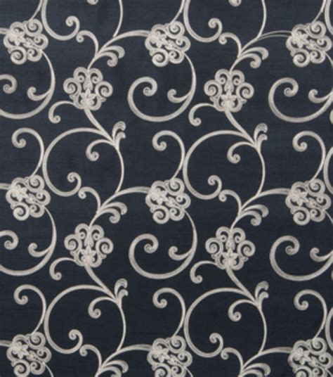 home decor print fabric home decor print fabric eaton square nolan black jo ann