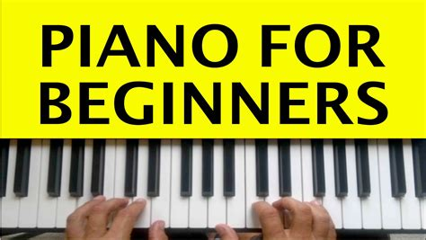 piano keyboard tutorial video piano lessons for beginners lesson 1 how to play piano