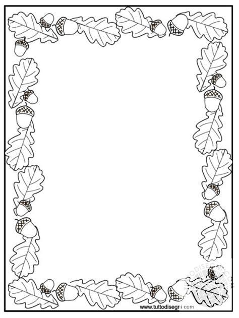 cornici per bambini da colorare cornicetta da colorare archives tutto disegni