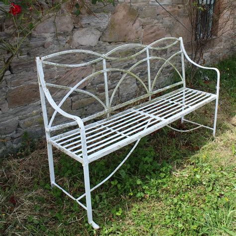 old garden bench antiques atlas antique regency wrought iron garden seat