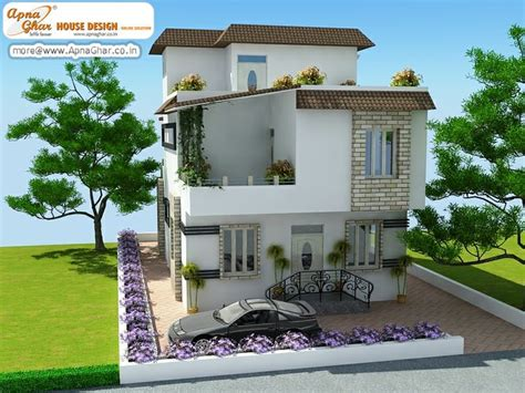 floor plan for modern triplex 3 floor house click on 5 bedroom modern triplex 3 floor house design area