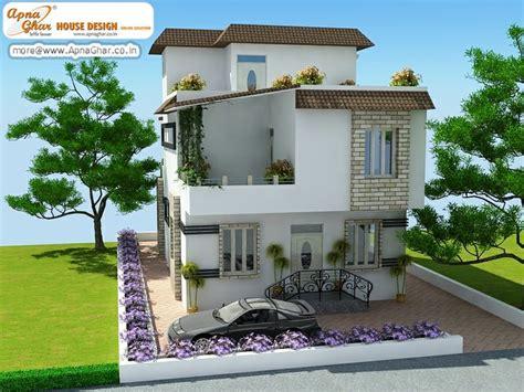5 bedroom modern triplex 3 floor house design area