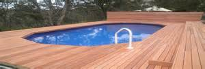 Landscape Timbers Around Above Ground Pool Dig Landscape Design Construction