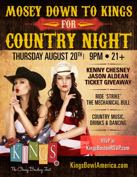 Jason Aldean Ticket Giveaway - kings annual country night jason kenny ticket giveaway