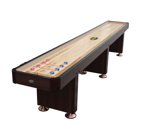 berner billiards 14 foot shuffleboard table quot the standard