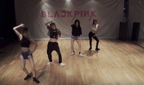 blackpink dance blackpink s whistle dance practice is relevant to my