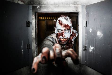 Trapped In A Room With A Zombie Escape Experie E