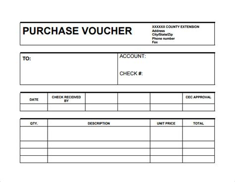Bookkeeping Agreement Template sample receipt voucher template 8 download free