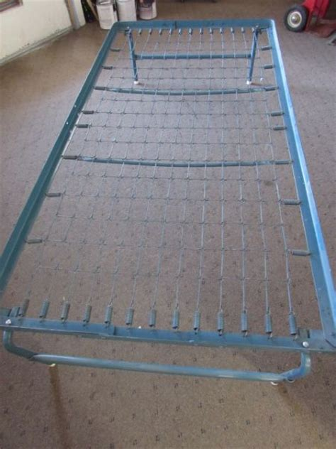 bed frame with springs lot detail fold up size bed frame