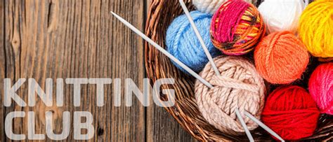 Knitting Club events greater green bay ymca