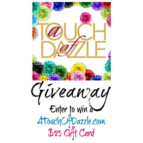 Website Giveaway - mamathefox a touch of dazzle giveaway super mom hop mamathefox