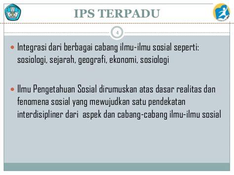 Ips Terpadu 4 konsep ips terpadu devi listari