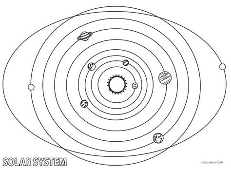 printable solar system coloring pages  kids coolbkids