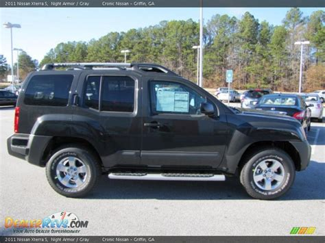 nissan xterra 2011 2011 nissan xterra s armor gray photo 5