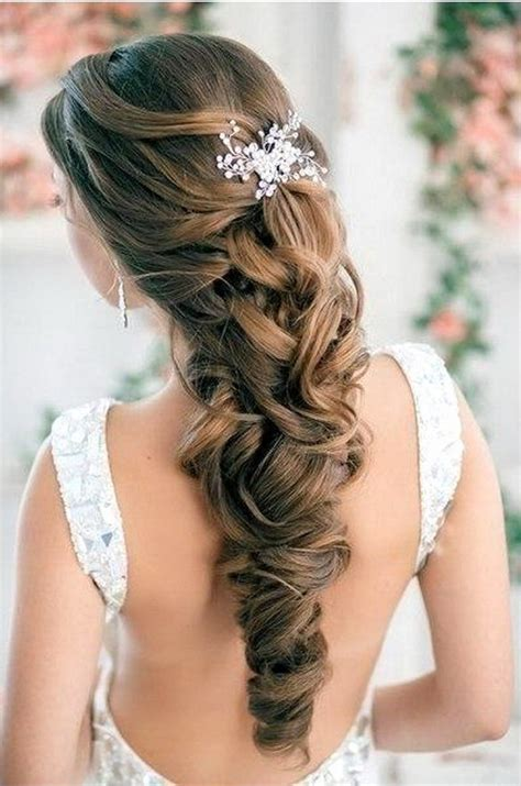 wedding hairstyles down pinterest elegant wedding hairstyles half up half down tulle