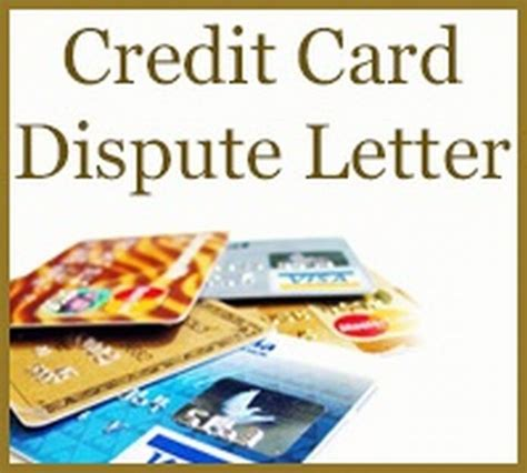 Dispute Letter For Credit Card Credit Card Authorization Letter