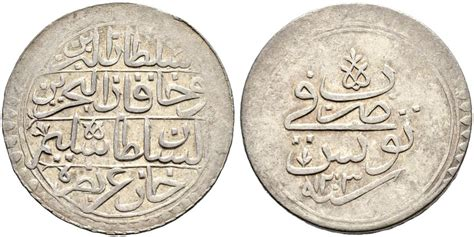 ottoman tunisia numisbids sincona ag auction 31 lot 49 ottoman tunis