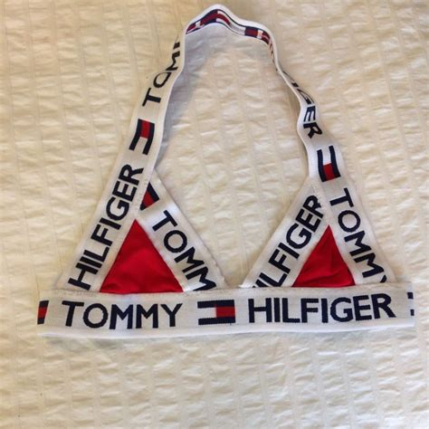 Vintage Blue Kitchen Accessories - tommy hilfiger reconstructed crop top bra xs