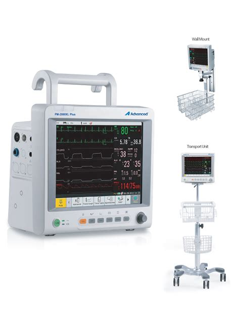 Monitor Advance monitor advanced pm 2000xl plus de advanced instrumentations