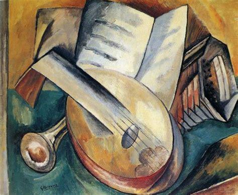 imagenes de obras musicales naturaleza muerta con instrumentos musicales 1908 211 leo