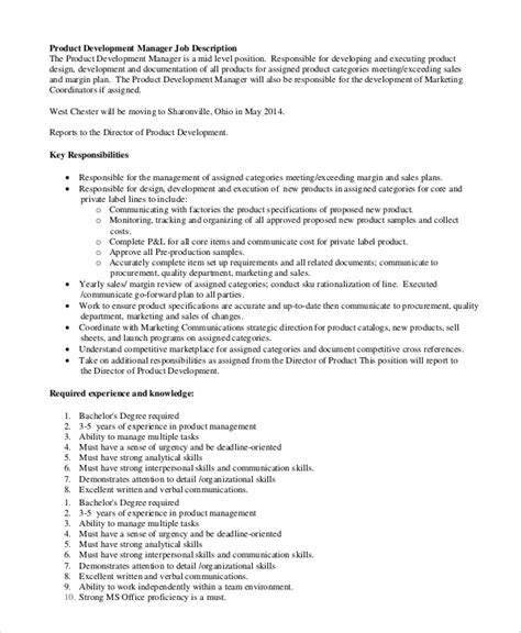 sle production manager job description 10 exles