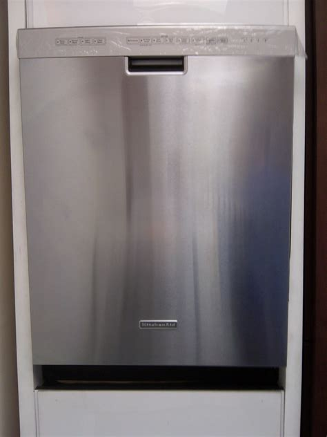 kitchenaid dishwasher stainless steel dishwasher how to clean kitchenaid