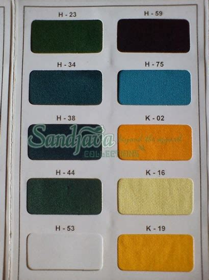 Kain Katun Golden Mella Polos katalog warna hi sofy japan drill sandjava collections