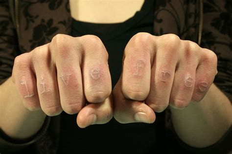 white finger tattoo designs white ink ideas trends 2012