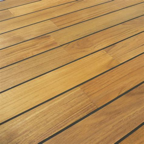 colours bali boat effect teak real wood top layer flooring