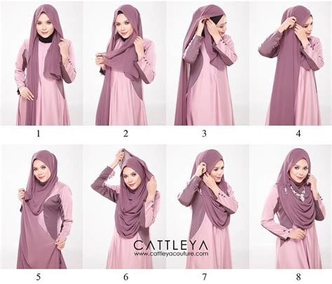 modest  beautiful full chest coverage hijab