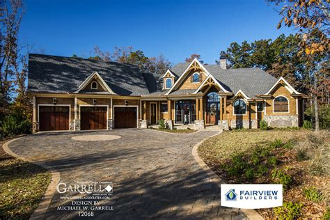 luxury cottage house plans garrell associates inc amicalola cottage house plan 12068