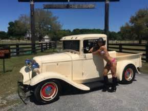1934 ford street rod pickup truck girls and cars amp cars