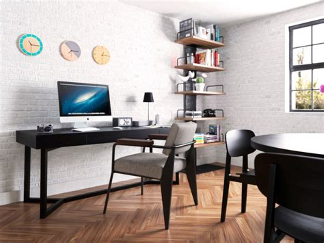 simple home office 21 industrial home office designs decorating ideas