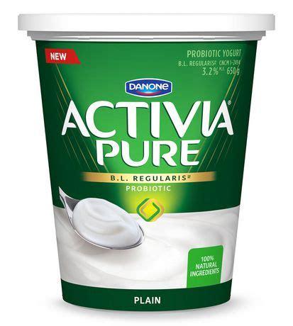activia pure plain 3.2% m.f. probiotic yogurt | walmart canada