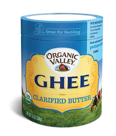 Ghee Detox Diet by Clarified Butter Ghee 13 Oz