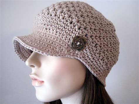 crochet hat womens accesories crochet hat womens newsboy hat crochet