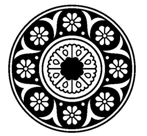 imagenes en blanco y negro de flores 87 best images about mandalas on pinterest recycled cds