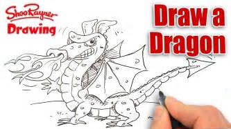 How to draw a dragon shoo rayner drawing school youtube